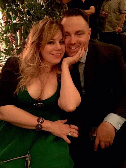 Kirsten Vangsness and Keith Hanson