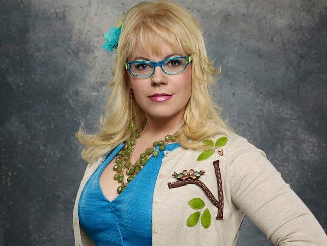 Kirsten Vangsness in a still from Criminal Minds