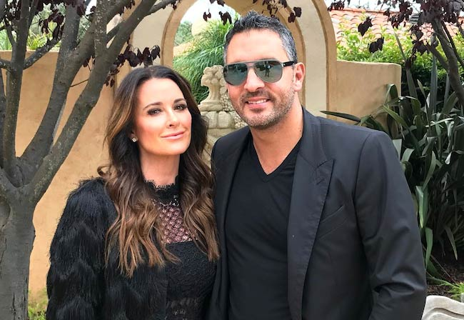 Kyle Richards with husband Mauricio Umansky