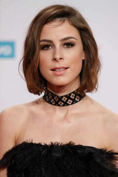 Lena Meyer-Landrut at the 1Live Krone event in December 2016