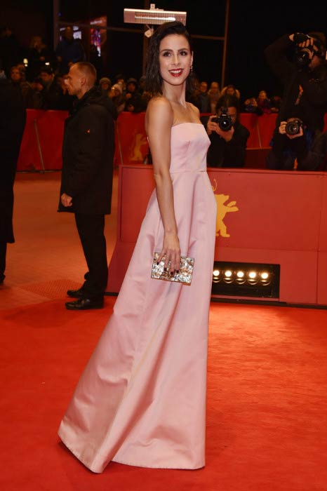 Lena Meyer-Landrut at the 67th Berlinale International Film Festival in February 2017