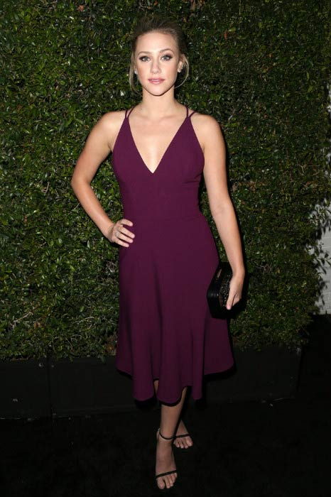 Lili Reinhart at The 2016 Women in Film Max Mara Face of the Future