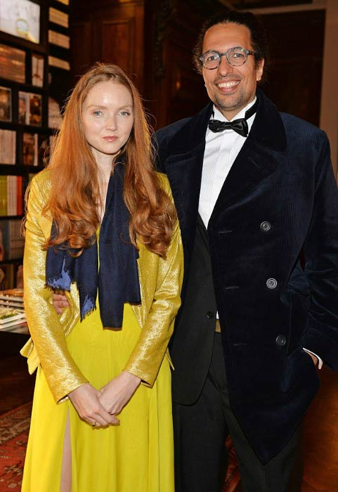 Lily Cole and Kwame Ferreira at The Animal Ball in 2016