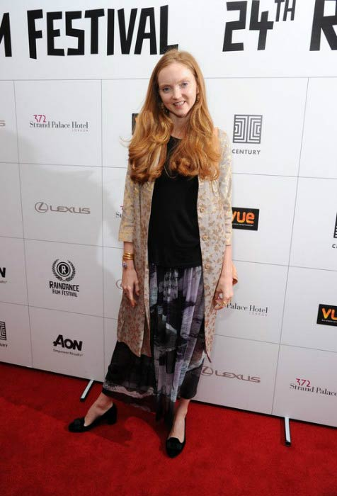 Lily Cole at the Orion premiere during Raindance Film Festival in September 2016