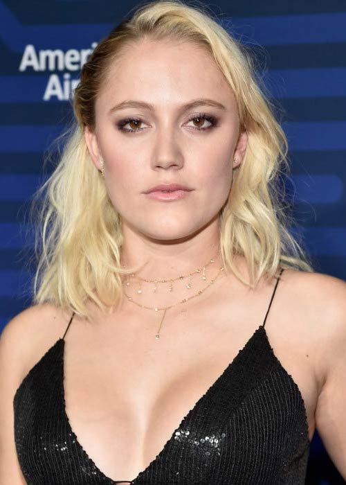 Maika Monroe at The Hollywood Reporter's Next Gen Celebration in November 2016