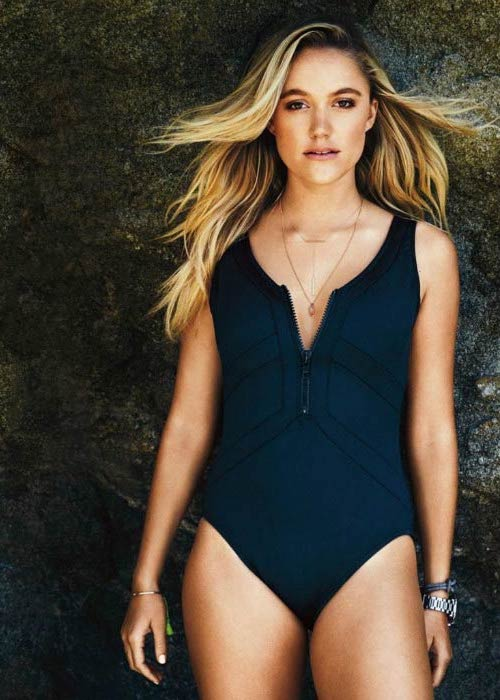 Maika Monroe during Women's Health Magazine photoshoot in July 2016