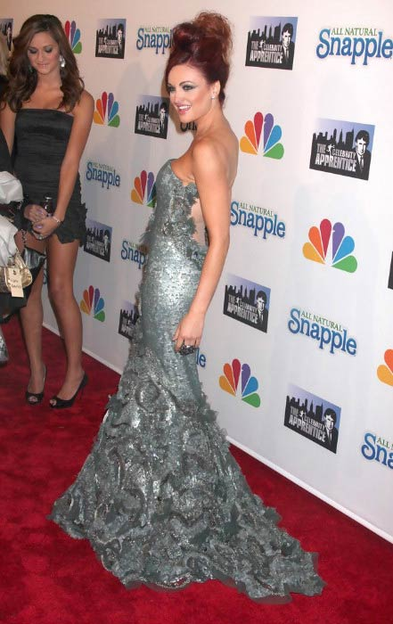 Maria Kanellis at the Celebrity Apprentice Finale after party in May 2010