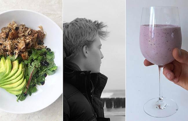 Mario Kaspers promotes healthy foods