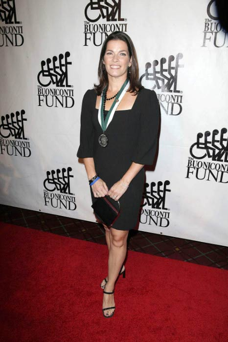Nancy Kerrigan at the 26th Annual Great Sports Legends Dinner in September 2011