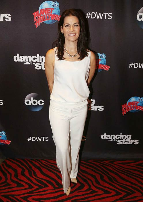 Nancy Kerrigan at the Dancing with the Stars event in March 2017