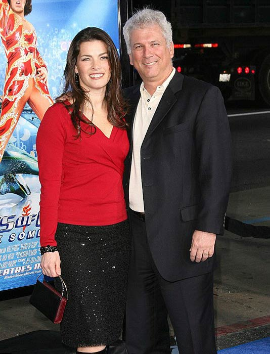 Nancy Kerrigan and Jeremy Solomon at the Blades of Glory premiere in June 2007