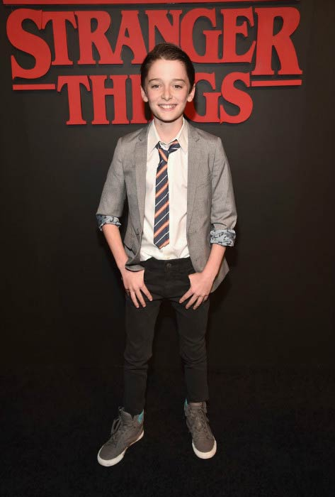 Noah Schnapp at the Netflix's Stranger Things premiere in June 2016