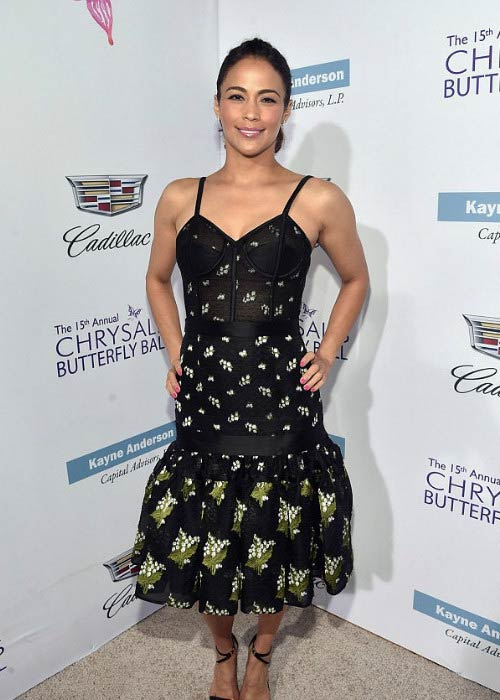 Paula Patton at the 15th Annual Chrysalis Butterfly Ball in June 2016