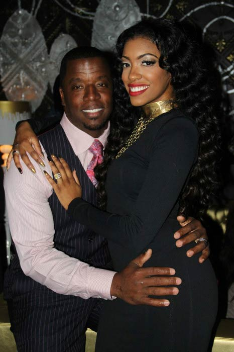 Porsha Williams and Kordell Stewart at a party in 2012