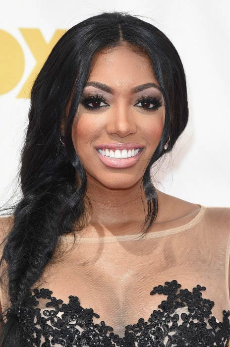 Porsha Williams at the 67th Annual Primetime Emmy Awards in September 2015