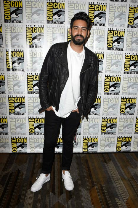 Rahul Kohli at the iZombie Press Line during Comic-Con International 2016