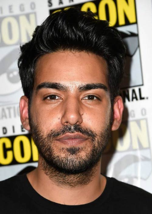 Rahul Kohli at the iZombie press line during Comic-Con International 2014