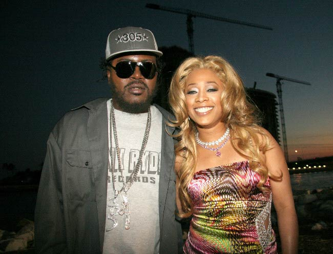 Trick Daddy and Trina at a Miami event in 2016