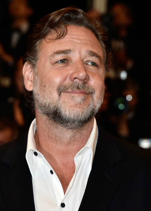 Russell Crowe at The Nice Guys premiere during the 69th Cannes Film Festival in May 2016