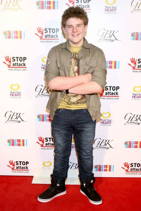 Sean Ryan Fox at the GBK & Stop Attack Pre Kids Choice Gift Lounge in March 2015