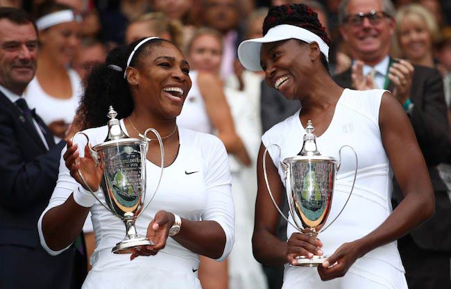 Serena Williams (Left) and Venus Williams
