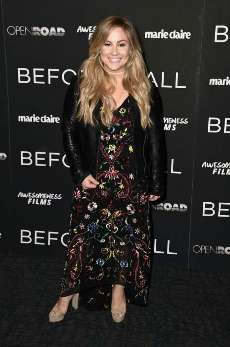 Shawn Johnson at the Before I Fall New York Special Screening in February 2017