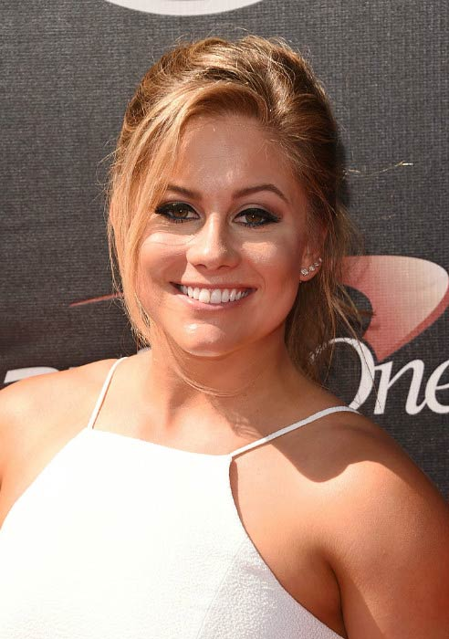 Shawn Johnson at The ESPY Awards in July 2015
