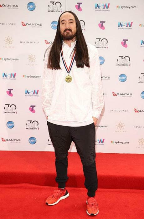 Steve Aoki at the 30th Annual ARIA Awards in November 2016