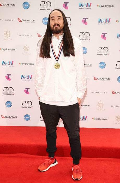 Steve Aoki at the 30th Annual ARIA Awards in November 2016