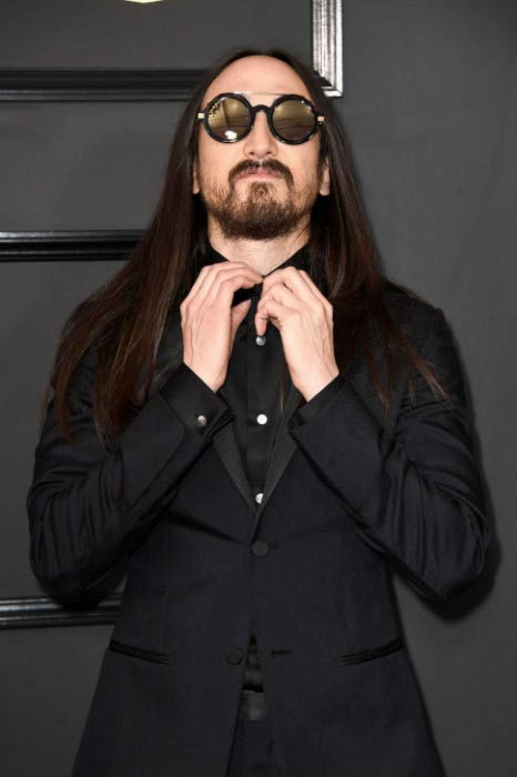 Steve Aoki at the 59th GRAMMY Awards in February 2017