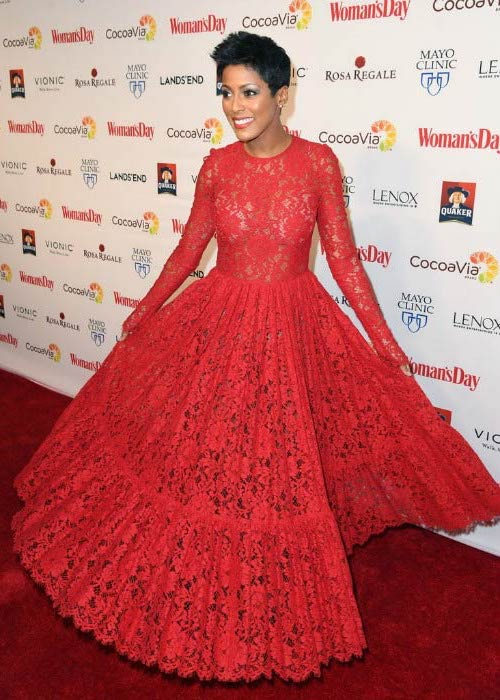 Tamron Hall at the 14th annual Woman's Day Red Dress Awards in February 2017