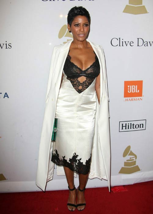 Tamron Hall at the Pre-GRAMMY Gala and Salute to Industry Icons event in February 2017