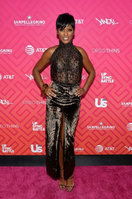 Tamron Hall at the Us Weekly's Most Stylish New Yorkers 2016 event