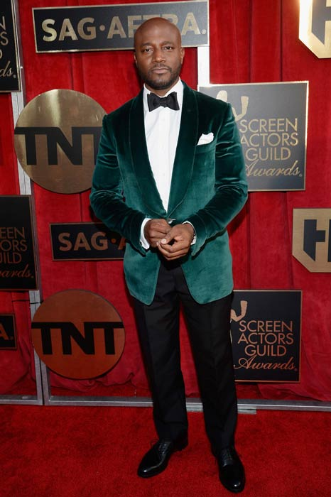 Taye Diggs at the 2016 Screen Actors Guild Awards