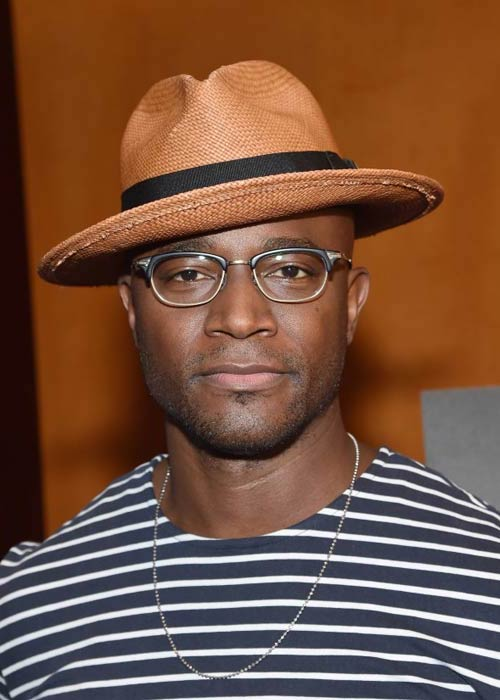 "Taye Diggs at the Broadway's ""Hedwig And The Angry Inch"" Cast Photocall in June 2015"