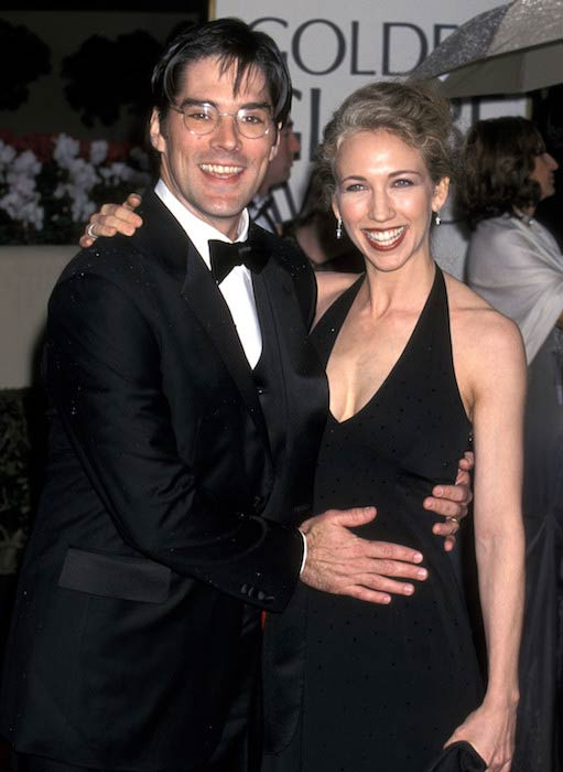 Thomas Gibson and his former wife Christine Gibson