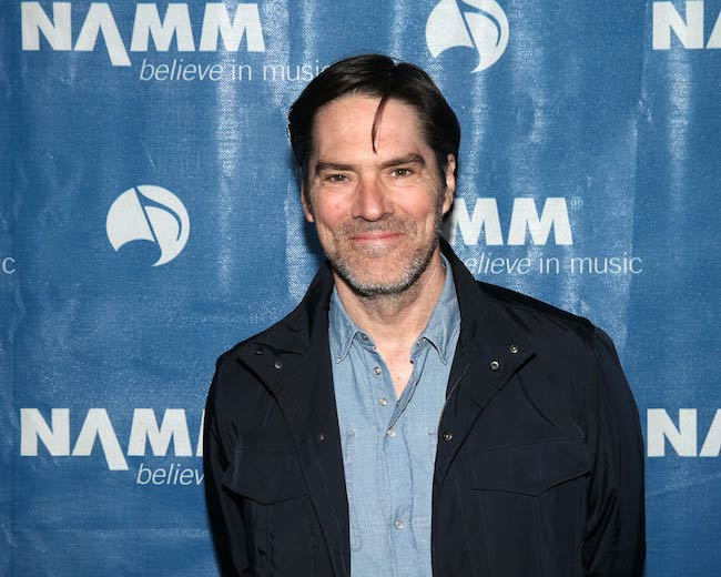 Thomas Gibson at NAMM Show Opening Day in Anaheim, California on January 19, 2017