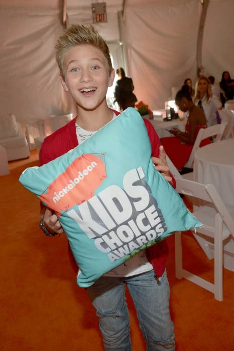 Thomas Kuc at the Nickelodeon's Kids' Choice Awards in March 2016