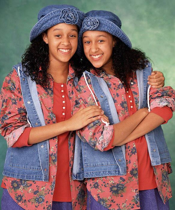 "Tia Mowry (Left) as seen in the sitcom ""Sister, Sister"""