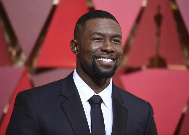 Trevante Rhodes at the 2017 Academy Awards