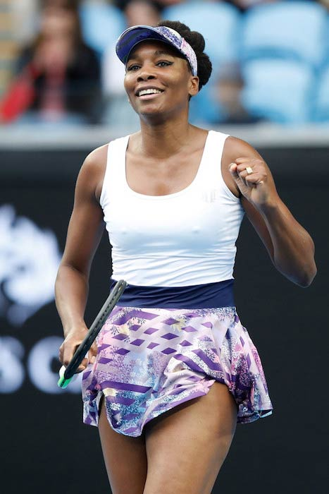 Venus Williams at 2017 Australian Open Day 5