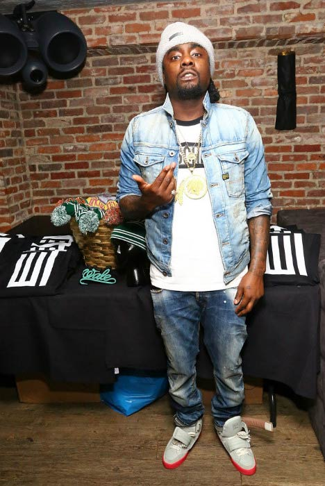 Wale at the Wrkng Title Fall 2014 press event