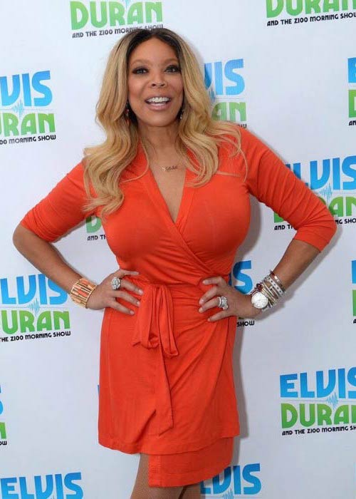 Wendy Williams at The Elvis Duran Z100 Morning Show in September 2015