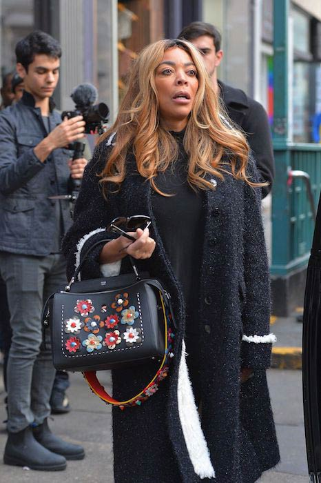 Wendy Williams at Joe & The Juice in New York on January 11, 2017