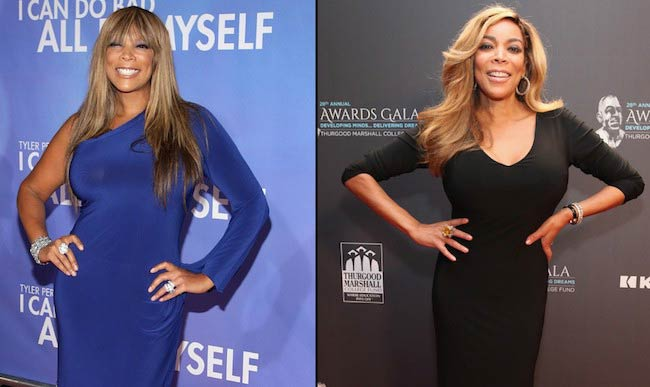 Wendy Williams before and after weight loss