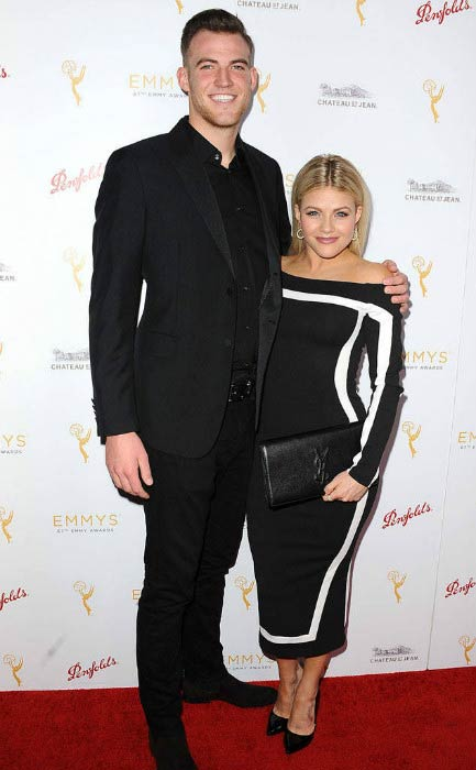Witney Carson and Carson McAllister at the Emmy Award Nominees for Outstanding Choreography Cocktail Reception in September 2015