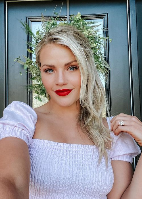 Witney Carson as seen in May 2020