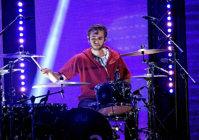 Zedd performing onstage at the iHeartRadio Music Festival in September 2016 in Las Vegas, Nevada