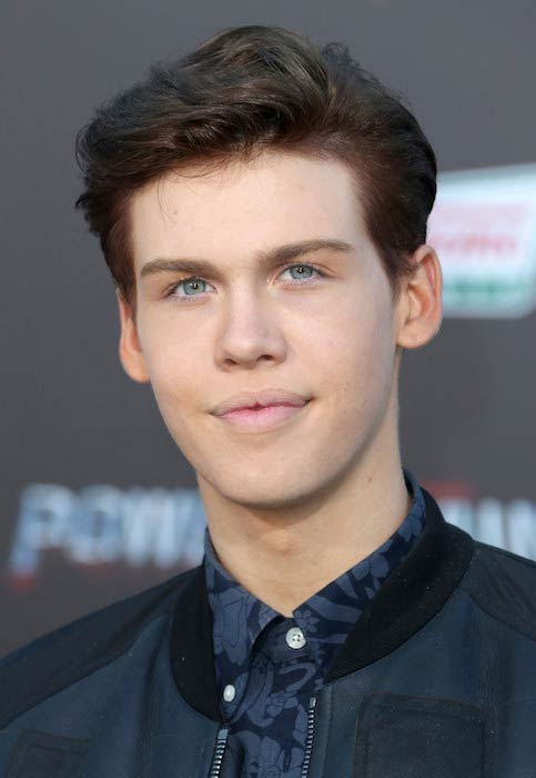 "Aidan Alexander at ""Power Rangers"" premiere on March 22, 2017"