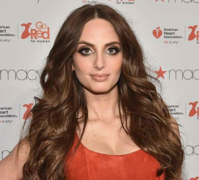 Alexa Ray Joel at the Go Red For Women Red Dress Collection during Mercedes-Benz Fashion Week in February 2015